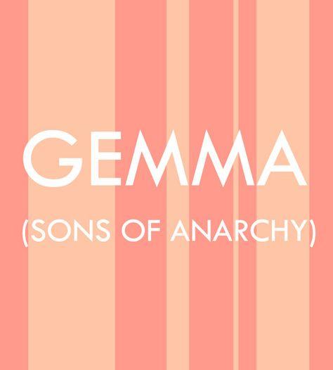Gemma - Pop Culture Baby Names for Girls  - Photos