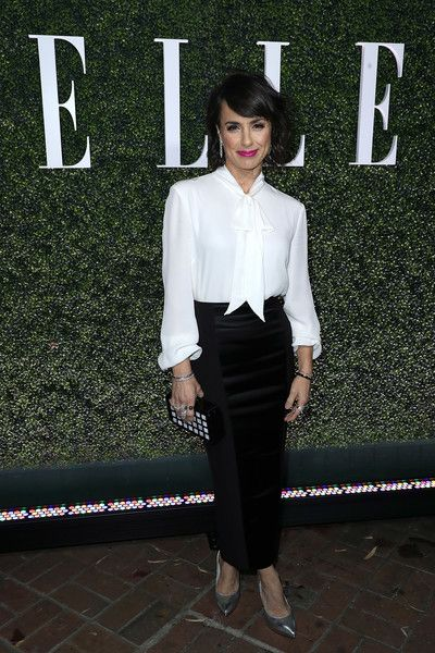 Constance Zimmer attends the ELLE's Annual Women in Television Celebration 2017.