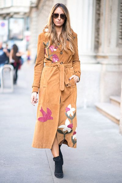 '70s Style - The Fearless Street Style at Milan Fashion Week S'17 - Photos