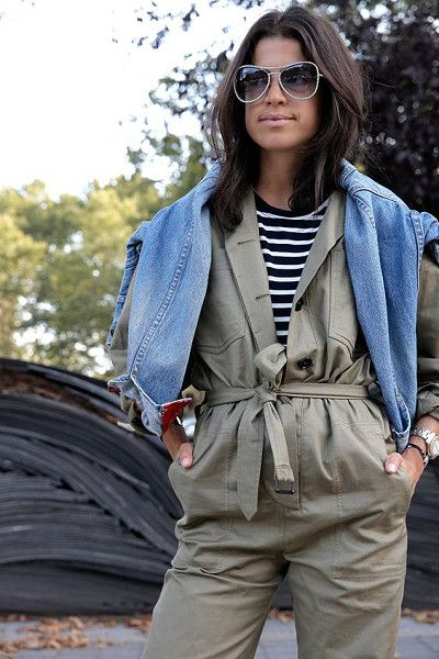Unbutton Your Jumpsuit - Easy Ways to Jazz Up Your Jumpsuits - Photos