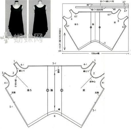 Выкройка платье кокон выкройка