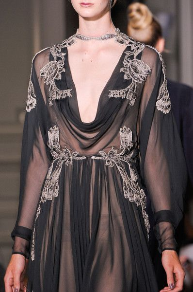 Valentino Fall 2012 Couture Details - Valentino's Most Stunning Couture Runway Details of the Decade - Photos
