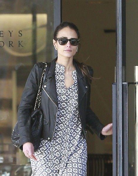 Jordana Brewster goes shopping at Barneys New York in Beverly Hills.