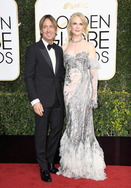 Nicole Kidman and Keith Urban - The Cutest Couples at the 2017 Golden Globes - Photos