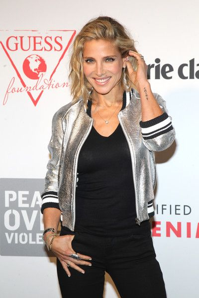 Elsa Pataky attends the Guess Foundation Denim Day Charity at Salt Restaurant - W Hotel.