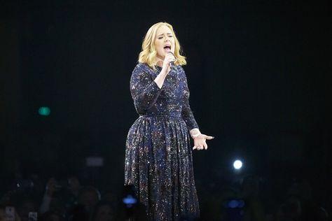 Adele performs at Forum on May 3, 2016 in Copenhagen, Denmark.