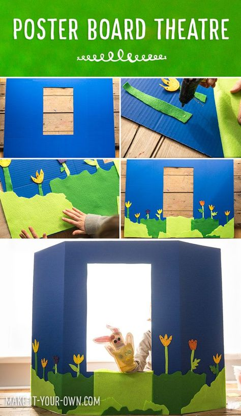 Poster board craft ideas