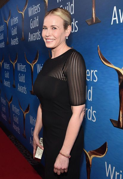 Tv personality Chelsea Handler attends the 2017 Writers Guild Awards L.A. Ceremony.