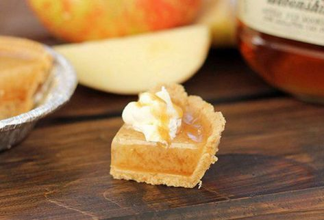 Caramel Apple Pie Moonshine Jell-O Shots - The Ultimate List of Jell-O Shots Recipes - Photos