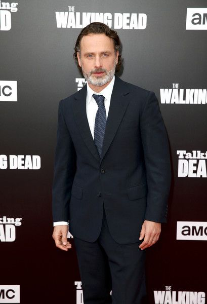 Actor Andrew Lincoln attends as AMC presents 'Talking Dead Live' for the premiere of 'The Walking Dead.'