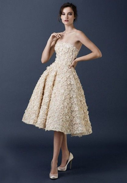 Appliqued - Darling Retro Wedding Dresses - Photos