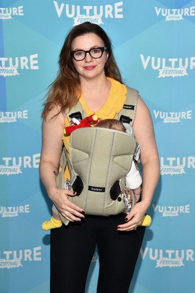 Amber Tamblyn attends the 2017 Vulture Festival.