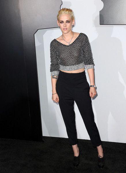 Actress Kristen Stewart attends a Chanel Dinner Celebrating N 5 L'Eau in Hollywood.
