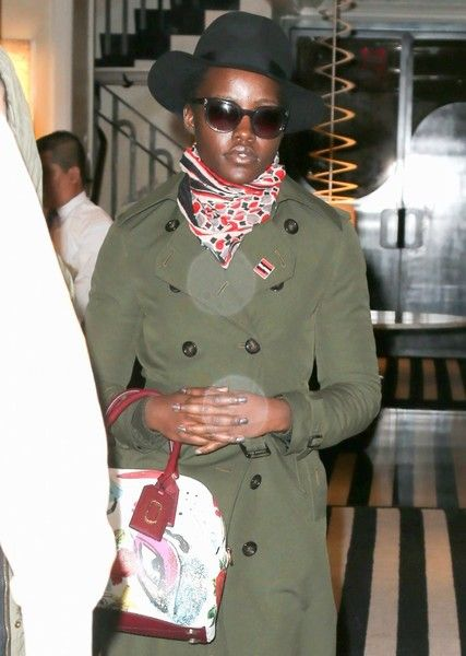 Lupita Nyong'o is seen out and about in New York City.