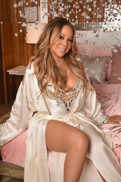 Mariah Carey attends the M.A.C Cosmetics Mariah Carey Beauty Icon Launch.