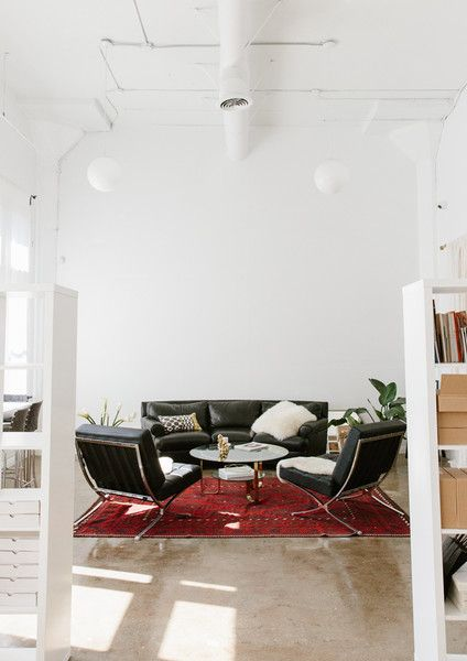 Sitting Room - Vrai & Oro's Los Angeles Office Is A Minimalist's Dream - Photos