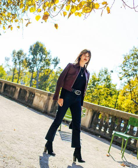 Stunning Street Style   Jeanne Damas