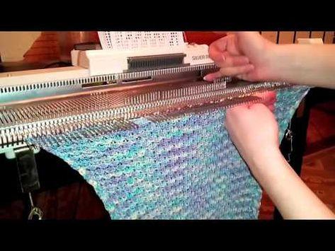 Вязание на вязальных машинах для лета