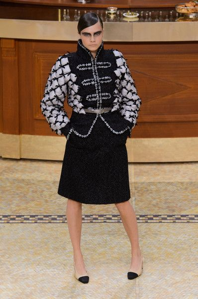 Chanel, Fall 2015 - Cara Delevingne on the Catwalk - Photos