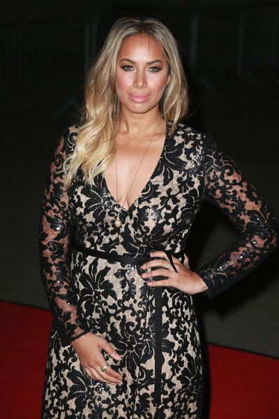 Leona Lewis attends a reception and dinner for supporters of the British Asian Trust.