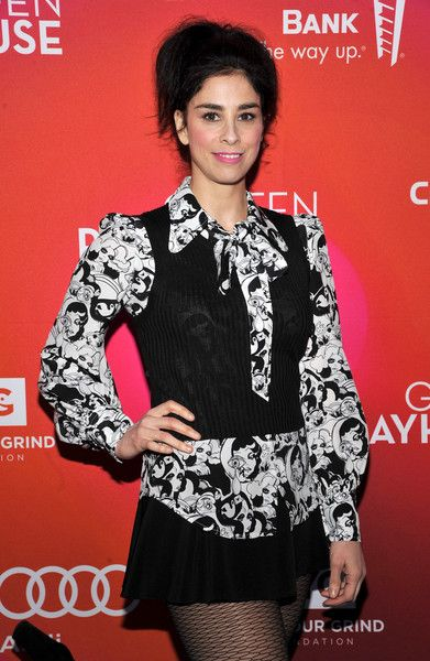 Sarah Silverman attends Geffen Playhouse's 15th Annual Backstage at the Geffen Fundraiser.