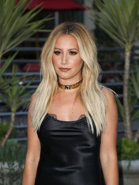 Ashley Tisdale is seen at Arclight Theatre.
