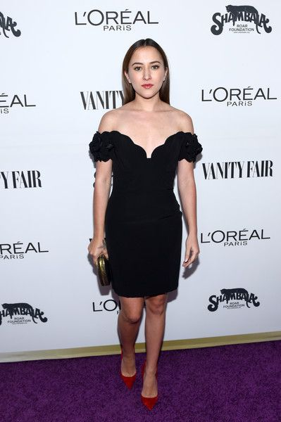 Actor Zelda Williams attends the Vanity Fair and L'Oreal Paris Toast to Young Hollywood.