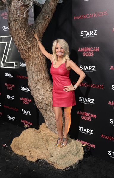 "Actress Kristin Chenoweth attends the premiere of Starz's ""American Gods"" at the ArcLight Cinemas Cinerama Dome on April 20, 2017 in Hollywood, California."