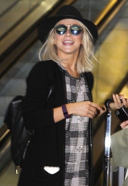 Julianne Hough Arrives in Washington DC