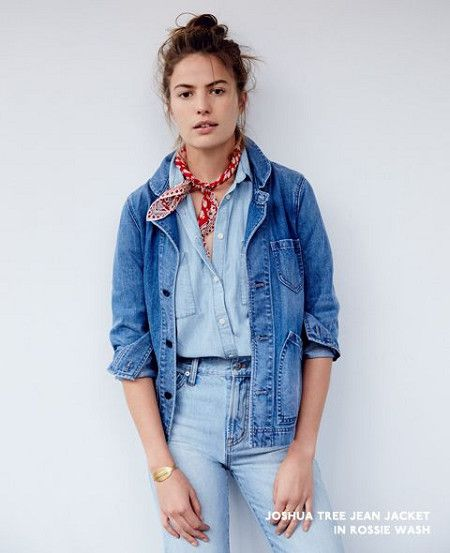Screw It, Double Up On Denim - Cute Outfits To Wear When You Fly - Photos