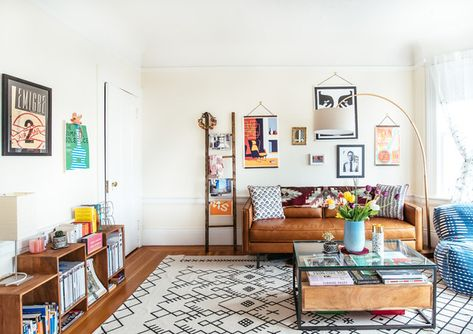 Lifelong Curation - A Facebook Creative Director's Art Filled Home - Photos