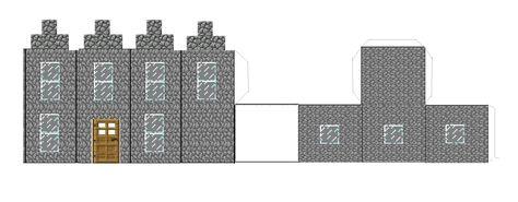 Майнкрафт поделки из бумаги схемы распечатать дом
