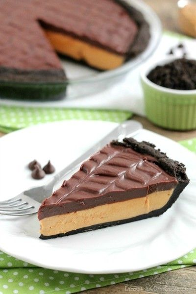 No-Bake Peanut Butter Pie - Halloween Recipe DIYs - Photos