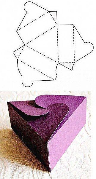 Коробочка для для подарков своими руками