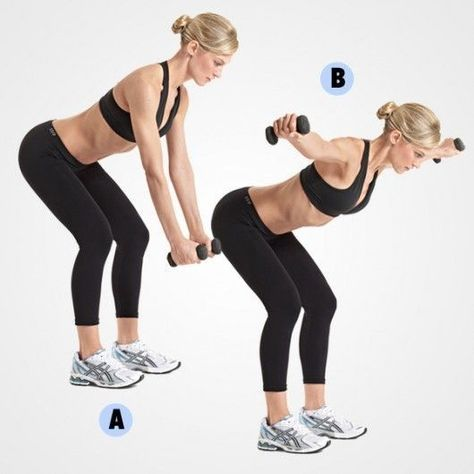 Reverse Fly - Get Strong With These Upper Body Exercises - Photos