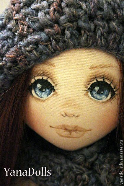 Как сделать объемное лицо у куклы
