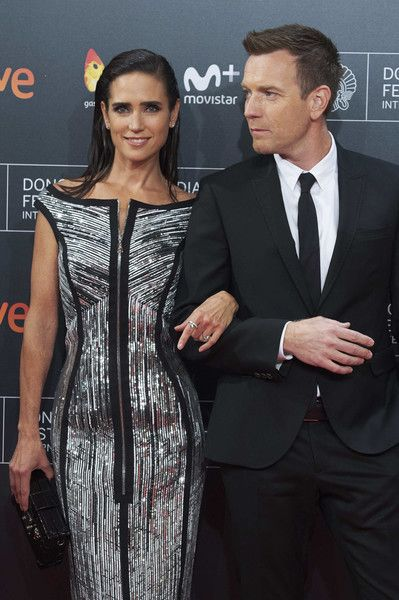 Actor Ewan McGregor and actress Jennifer Connelly attend 'American Pastoral' premiere during the 64th San Sebastian International Film Festival at Kursaal Palace on September 23, 2016 in San Sebastian, Spain.