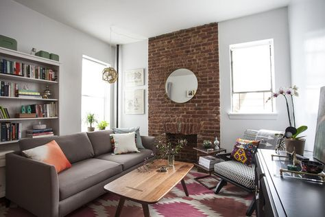 Brooklyn In Brick - These Furniture Arrangements Are #SquadGoals - Photos