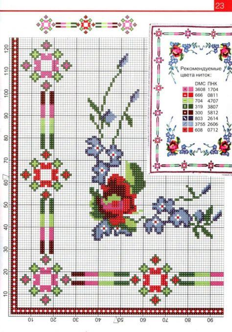 Схемы вышивки крестом из журналов как вышивать 777