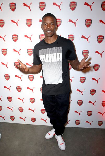 Jamie Foxx attends the PUMA and Arsenal Football Club 2016/17 AFC Away.