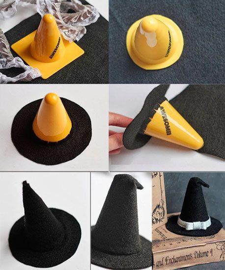 Шляпа ведьмы своими руками из бумаги на хэллоуин своими руками