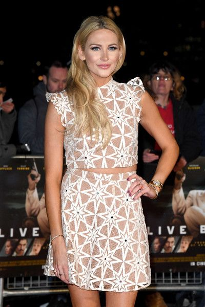 Stephanie Pratt attends the film premiere of 'Live By Night.'