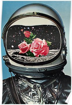 'Spring Crop at the Rosseland Crater' Poster by eugenialoli