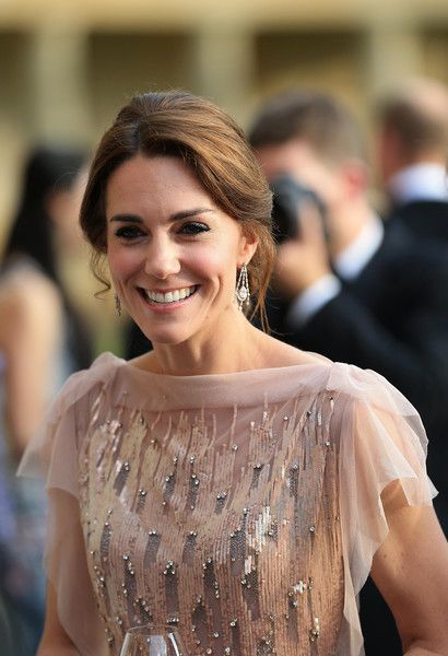 Catherine, Duchess of Cambridge attends a gala dinner in support of East Anglia's Children's Hospices' nook appeal at Houghton Hall.