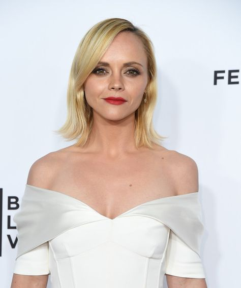 Actress Christina Ricci attends the Opening Night of the 2017 Tribeca Film Festival and the world premiere of 'Clive Davis: The Soundtrack of Our Lives' in NYC.