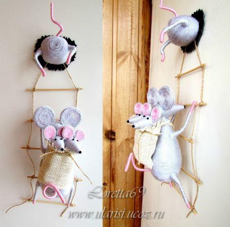Мышки на холодильник своими руками 76