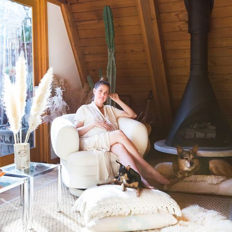This Hollywood Hills A-Frame Is SO Magical - This Hollywood Hills A-Frame Home Is Magical - Photos
