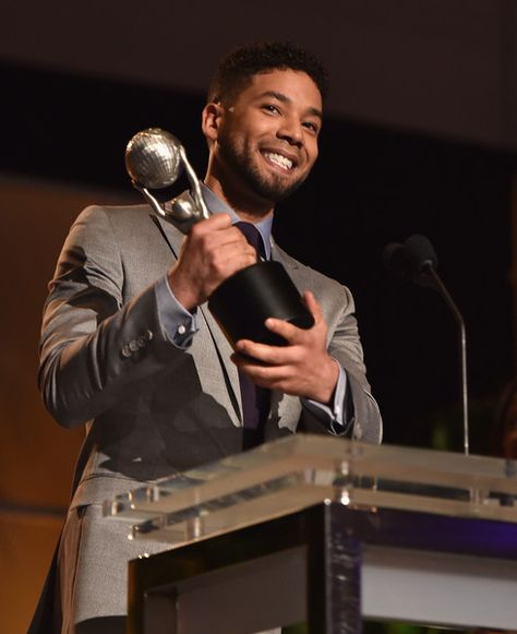 Actor Jusssie Smollett attends the 47th NAACP Image Awards Non-Televised Awards Ceremony on February 4, 2016 in Pasadena, California.