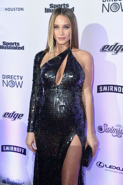 Hannah Jeter attends Sports Illustrated Swimsuit 2017 NYC launch event at Center415 Event Space on February 16, 2017 in New York City.