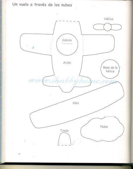 Самолет из ткани своими руками выкройки 24